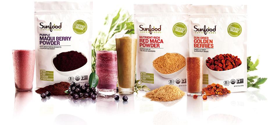 「サンフード スーパーフーズ」は、スーパーフードのパイオニアブランドです。